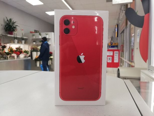 Nowy Apple iPhone 11 64GB - Red