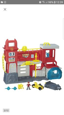 Remiza strażacka Transformers
