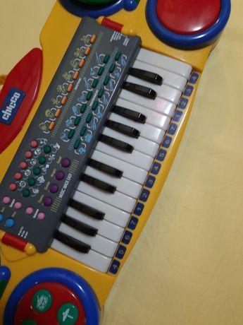 Дитячий синтезатор chicco піаніно