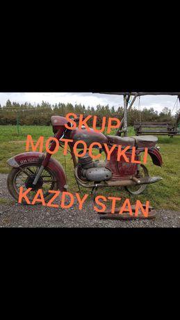 skup motocykli starych simson motorynka wsk wfm mz jawa osa s51 etz Cz