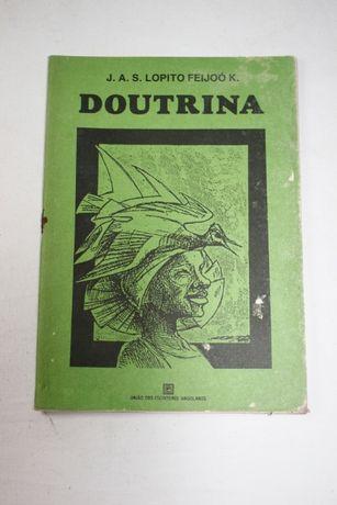 Livro-Doutrina-JAS Lopito Feijoó K-Autografado- Escritores Angolanos