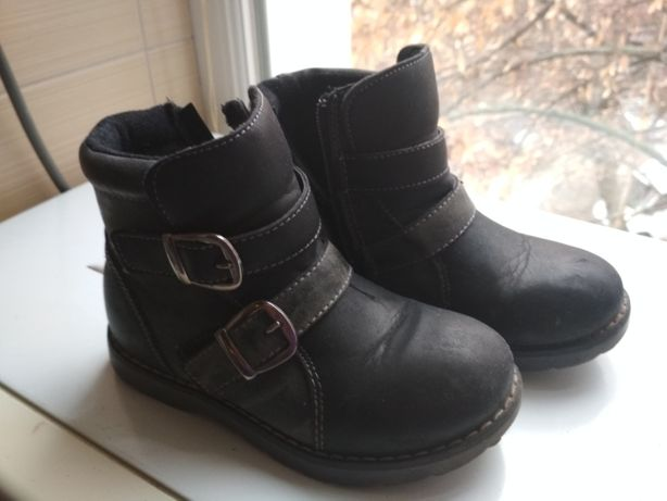 Осенние ботинки 29р. стелька 18 см
