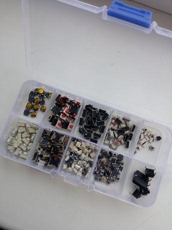 Набор микриков кнопок для ремонта ключей  Телефонов техники и другого