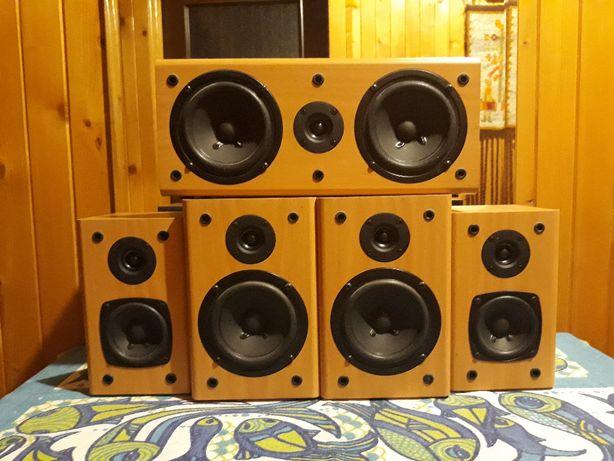 Głośniki Kolumny GENIUS 5 sztuk od zestawu 5,1 kino domowe KRAKÓW