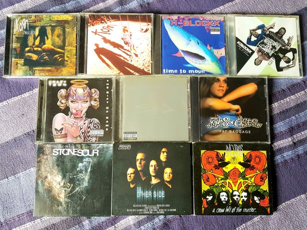 Lote de 10 CDs - Nu Metal (Portes Grátis)