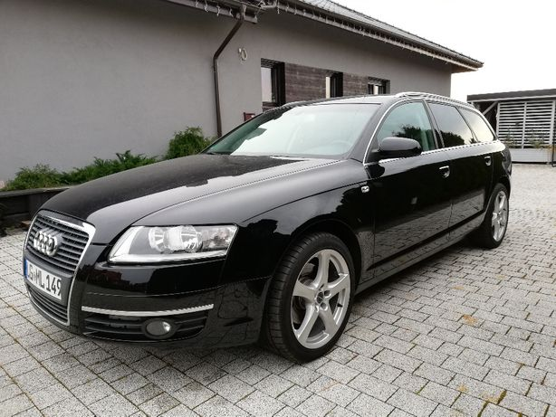 Czarne Audi A6 C6 2.0TDI Bardzo Ładny Doinwestowany Egzemplarz