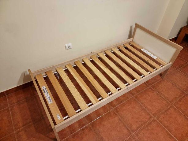 Cama de Criança + Colchão + Édredon - 70x160cm - IKEA
