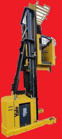 Yale 5m 1tona/ Wózek widłowy Platforma/ Elektyczny