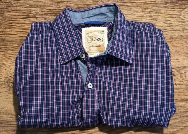 koszula męska casual, With Heart and Soul, rozmiar: M, 170 cm