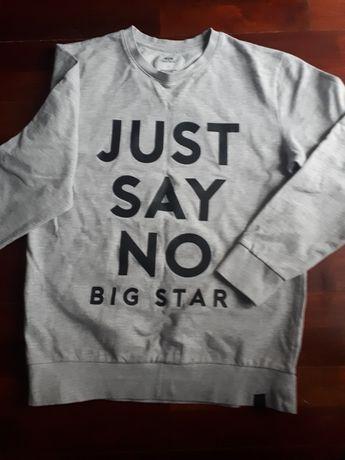 Bluza szara męska Big Star  S jak nowa