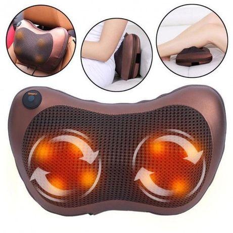 Электрическая подушка с инфракрасным прогревом Massage Pillow 8 ролик