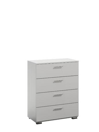 Różne kolory KOMODA 4 szuflady biały soonma wenge 259zł