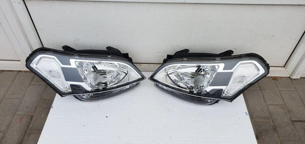Фара передняя левая, правая  Kia Soul 2009-2011 г.в. в сборе. оригинал Днепр - изображение 1