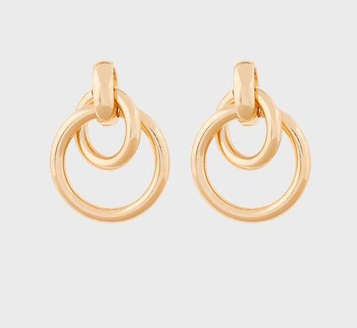 Жіночі золотисті сережки бренду Accessorize