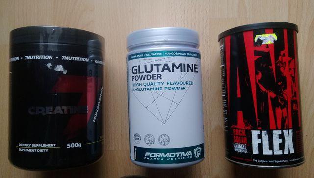 Oryginalnie, nowe - Glutamina, kreatyna