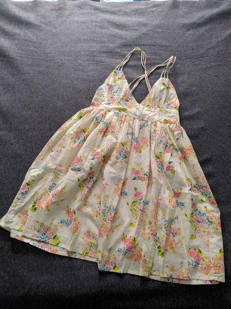 Sukienka letnia,plażowa w kwiaty. Atmosphere/Primark roz. 34