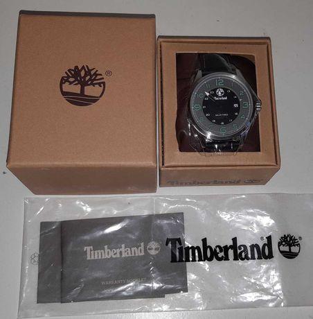 Relógio Timberland Na Caixa Com bracelete em Couro Novo
