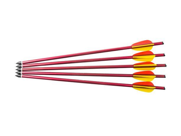 Bełt Poe Lang aluminiowy 16'' 5 szt. czerwony (076-196)