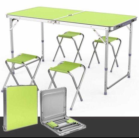 Стол и стулья для пикника Folding Table.