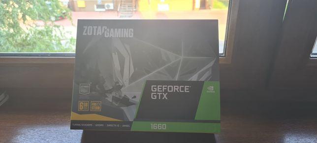 NOWA! Karta graficzna Zotac GeForce Gtx 1660 Twin Fan 6GB GWARANCJA!