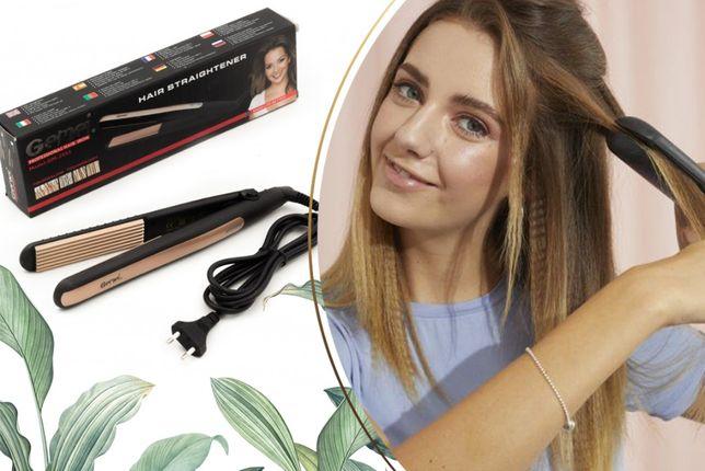 Плойка для волос гофре gemei GM-2955А прикорневой объем кудри волны