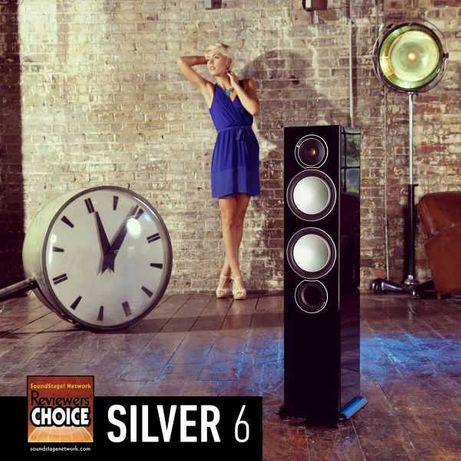 Monitor Audio Silver 6 - Como novas 2018 - Com caixa e acessórios