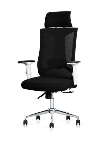 Fotel ergonomiczny ANGEL biurowy obrotowy milanO biały