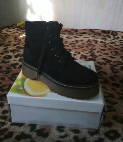 Ботинки сапоги женские 40р.