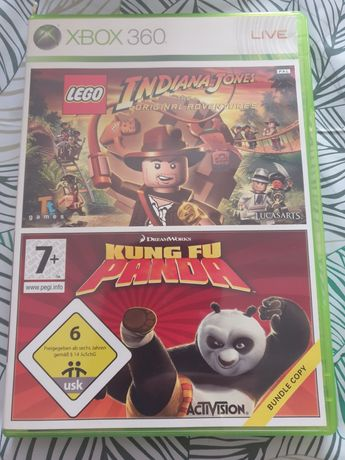Xbox indiana jones kung fu panda