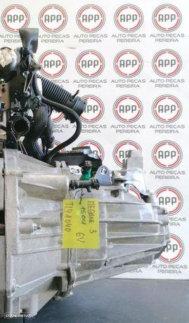 Caixa de 6 velocidades Renault Megane 3 1.5 DCI referência TL4A040