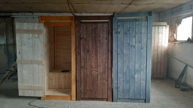 WC toaleta drewniana szalet budowa kibel deska borówka