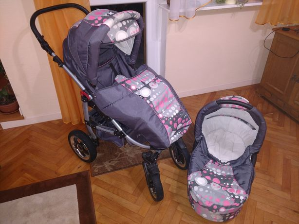 Wózek dziecięcy 2w1 gondola spacerówka
