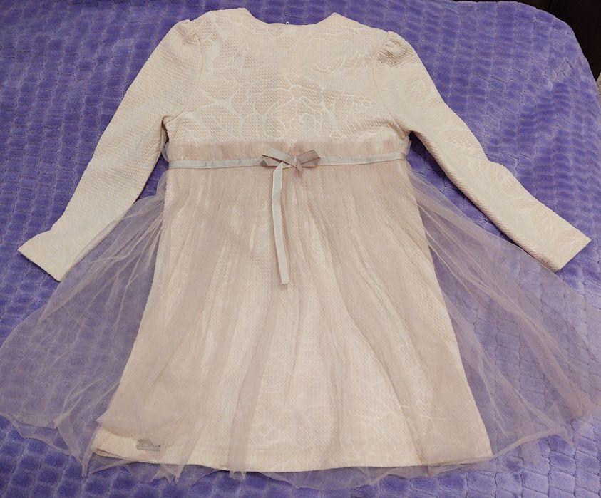 Платье весна/осень для девочки Песочин - изображение 1