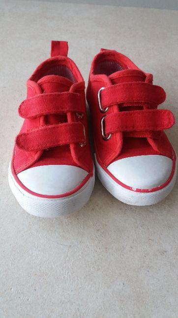 Trampki dziecięce czerwone rozmiar 23 Mini Rebel