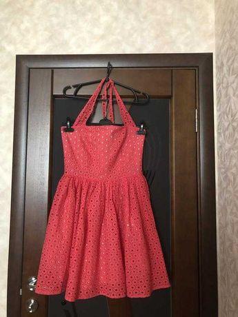 Летнее платье прошва (техника ришелье) Mademoiselle Франция р-р S
