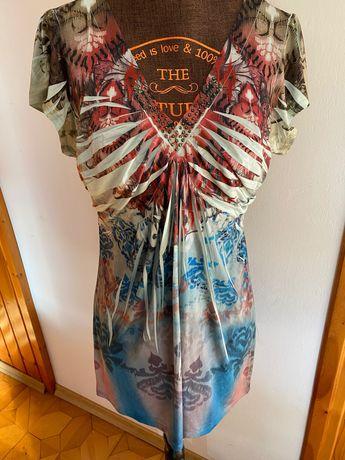 Z szafy piękna bluzka tunika Donna Moore rozmiar M