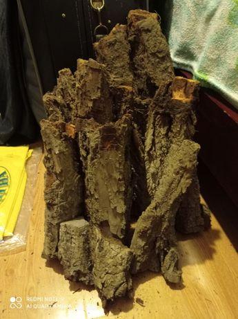 Кора. Блок для Орхидей. Разная порода дерева на вес.