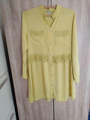 OKAZJA śliczna nowa koszula limonka