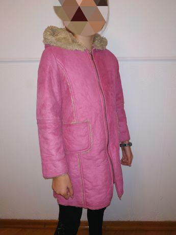 Дублёнка пальто куртка плащ демисезонное Benetton XS 110р.