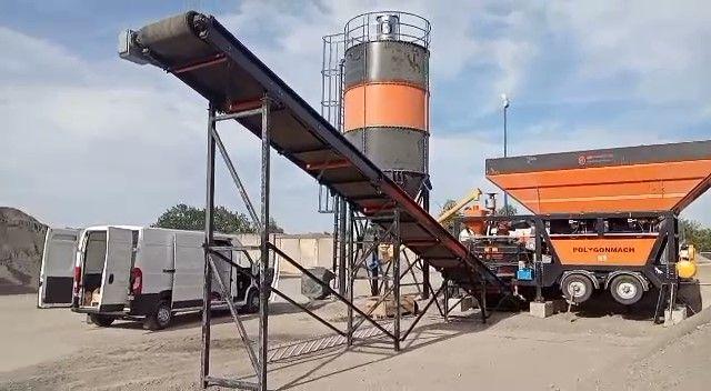 betoniarnie sprzedaż wynajem - używana 2020 mobilna betoniarnia 30m3/h