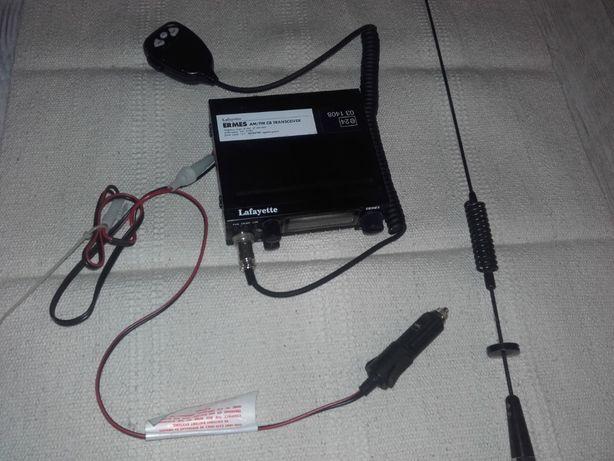 CB Radio Lafayette Ermes Pro + antena SIRIO