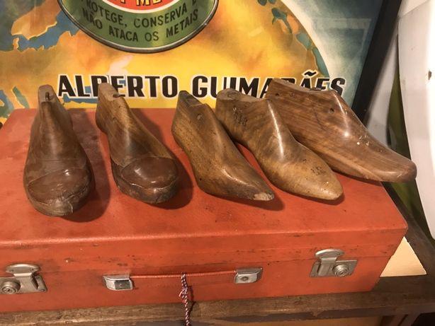 Formas de sapateiro em madeira!
