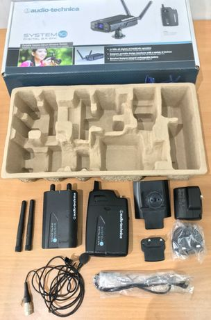 Audio-Technica ATW-1701P Camera-Mount Wireless Body-Pack System