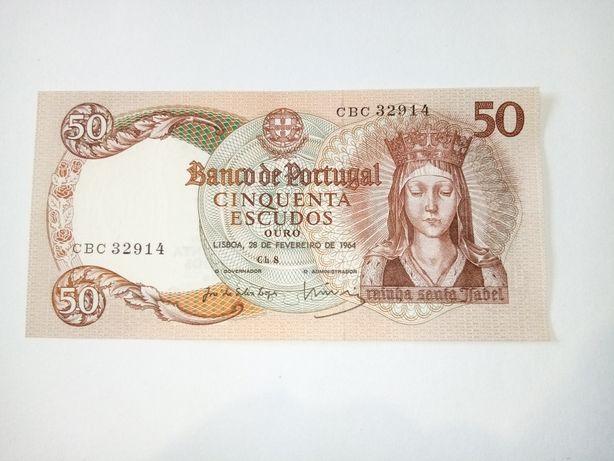Nota de cinquenta escudos