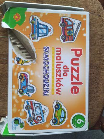 Puzzle dla maluszków 2+