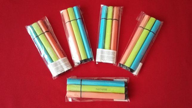 PISAKI -MAZAKI-MARKERY hachette 3 kolory.NOWE.Duża ilość +GRATISY