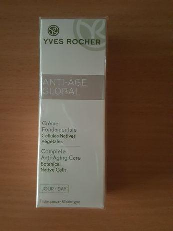 KREM przeciwzmarszczkowy na dzień 30 ml ANTI-AGE GLOBAL Yves Rocher