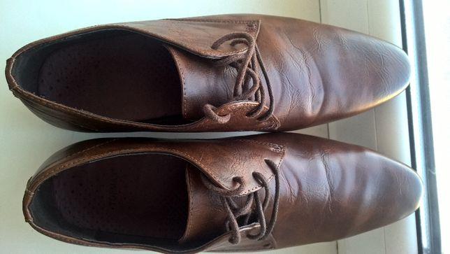 Мужские кожаные туфли.Чоловічі шкіряні туфлі