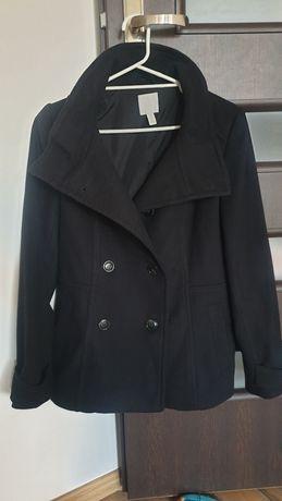 Nowy płaszczyk czarny z h&m rozmiar 36