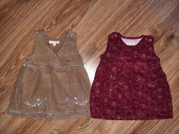 2 sukienki rozmiar 62
